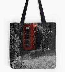 British phone box Tote Bag