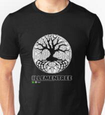 Illementree Logo Merch 2 - solid white flower Unisex T-Shirt