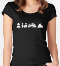 Holga White Women's Fitted Scoop T-Shirt