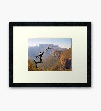 Blyde River Canyon Framed Print