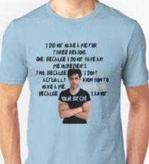 Alec Lightwood and his pie Unisex T-Shirt