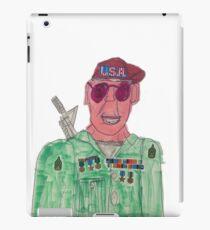 American Hero Soldier  iPad Case/Skin