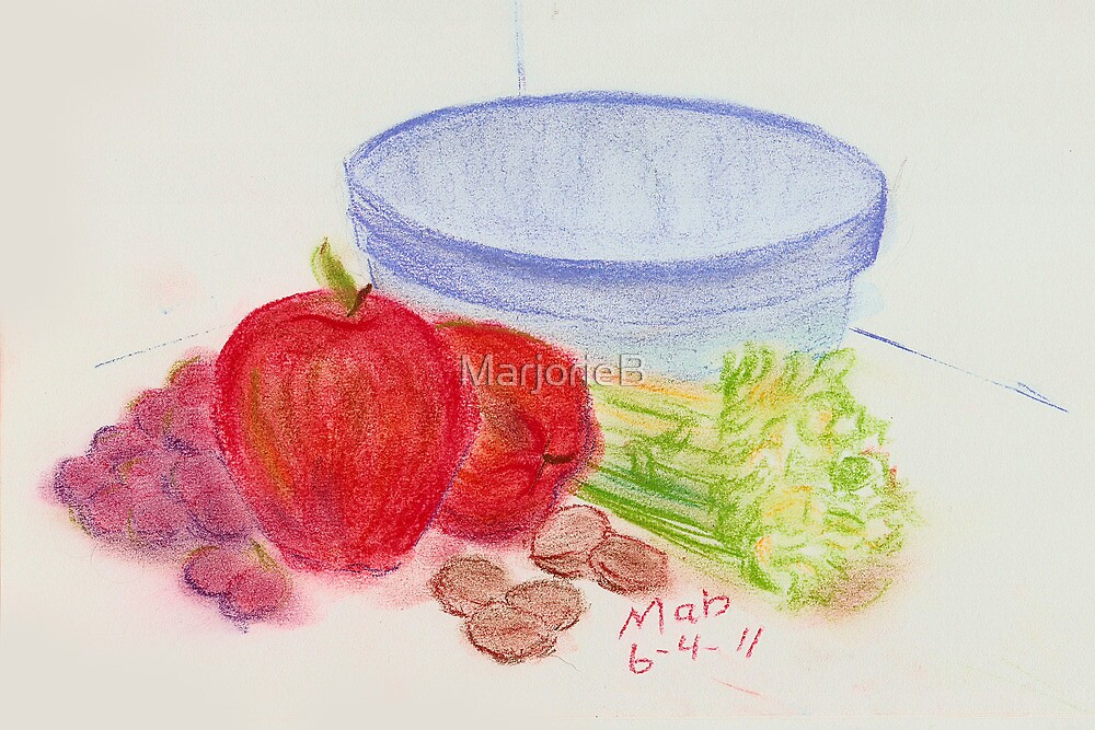 One Waldorf Salad Coming Up by MarjorieB