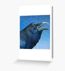 A Ravens Prayer Greeting Card