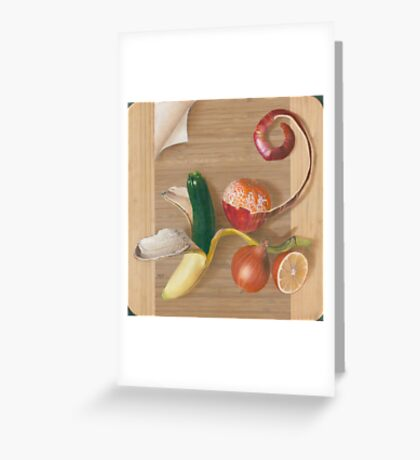 Peeling Back the Layers Greeting Card