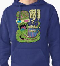 Alien Monster Movie Pullover Hoodie