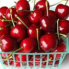 Basket of Cherries by CherylBee