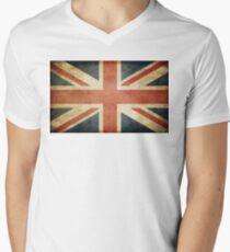 UNION JACK FLAG Men's V-Neck T-Shirt