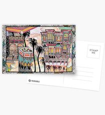 Palm Trees and Havelis Postcards