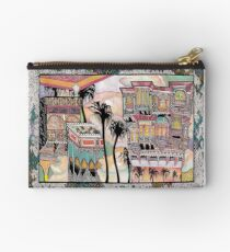 Palm Trees and Havelis Studio Pouch