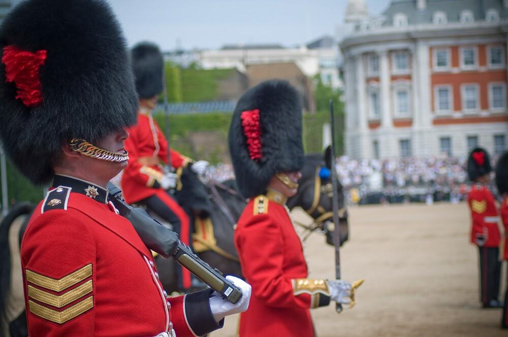 irish guards by Adam Glen