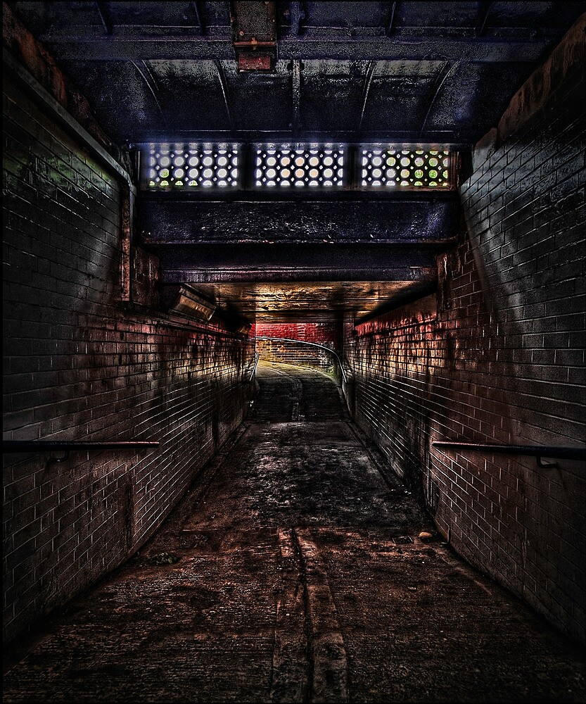 Baghill Station Subway. Pontefract by Nigel Butterfield