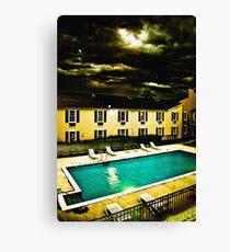 Paradise Motel Canvas Print
