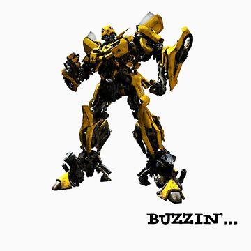 BumbleBee Buzzin by PepperMintShake