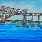 Bridge over the Forth -2 by john shannon