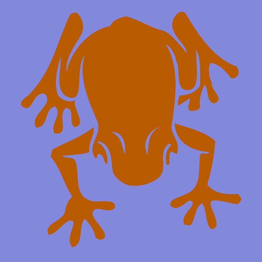 Orange Frog by James Hindermeier