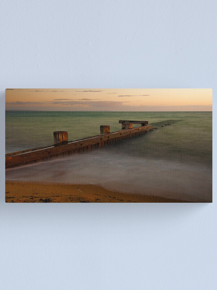 Alternate view of Mentone Beach Canvas Print