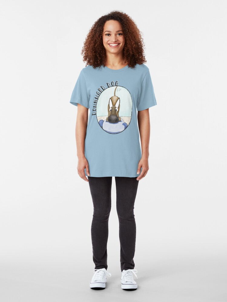 Alternate view of Yoga Dog Slim Fit T-Shirt