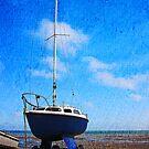 Sailing boat, Whitstable, Kent, UK by David Carton