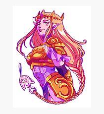 Hyule's Princess Zelda Photographic Print