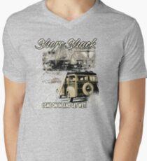 SHORE SHACK Mens V-Neck T-Shirt