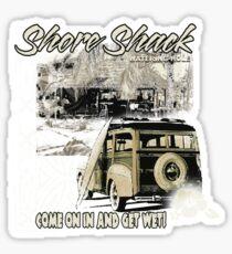 SHORE SHACK Sticker