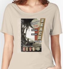 PARADISE PALMS Women's Relaxed Fit T-Shirt