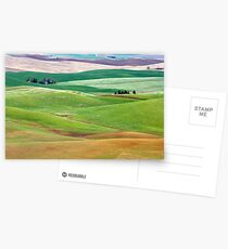 Nestled In The Rolling Hills. Postcards