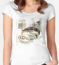 HOOKERS COUNTRY KITCHEN Women's Fitted Scoop T-Shirt