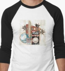 BOARD ROOM MOTEL Men's Baseball ¾ T-Shirt