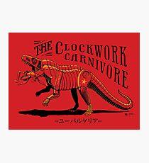 Clockwork Carnivore (Red EUPARKERIA-TYPE) Photographic Print