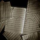 A Musicians Head by Melissa Fuller