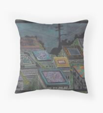 Where There Was Once Pain, Gardens Grew Throw Pillow
