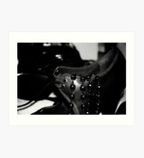 Shoe & Necklace Art Print