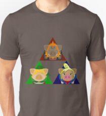 The Tri-Porker Unisex T-Shirt