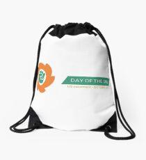 Full Logo & Title Drawstring Bag