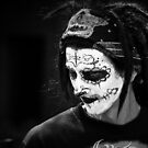 black and white guy by jscherr