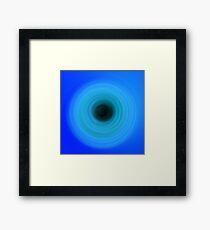 Blue Blue Blue Framed Print