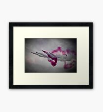 Red Arrows. Framed Print