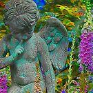 Quiet in the garden by Jeff Burgess