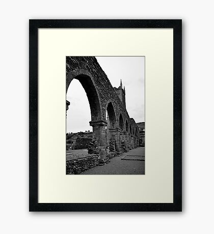 Balltinglass Abbey Co Wicklow,  Framed Print