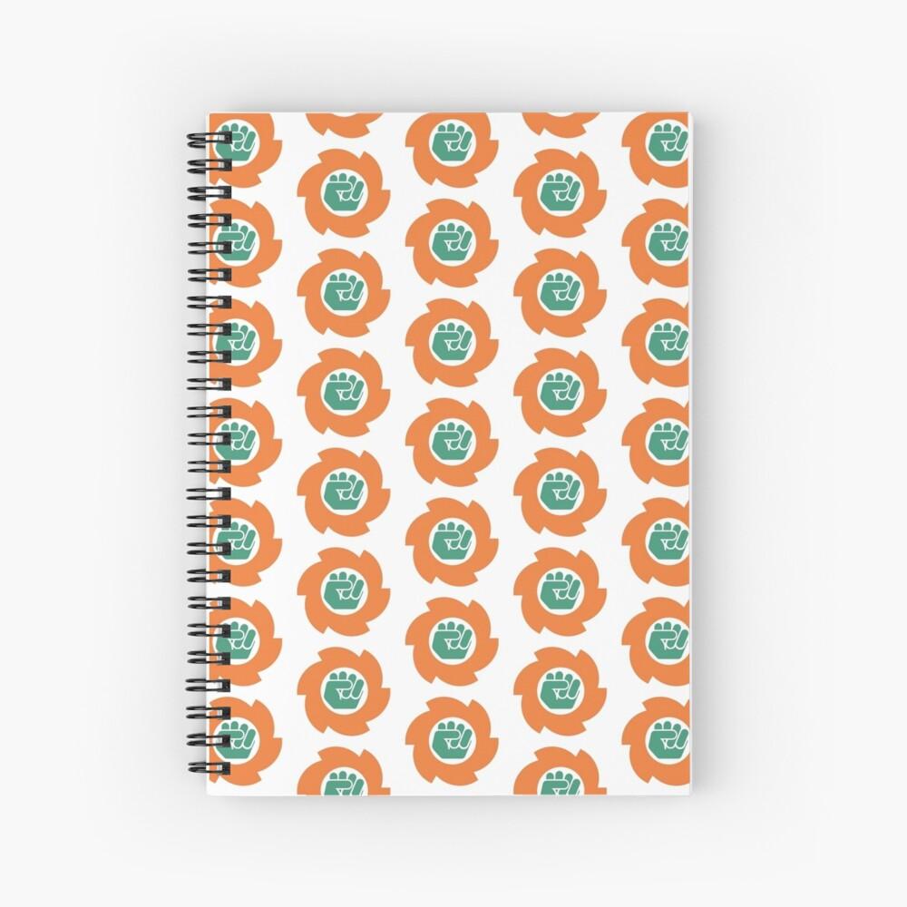 Color Logo Spiral Notebook
