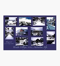 Threbdo Blizzard montage Photographic Print