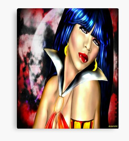 Full Vamp Rising Canvas Print