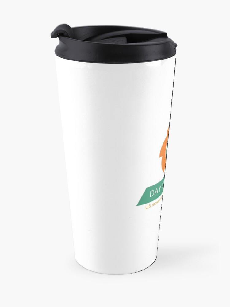 Alternate view of Full Logo & Title Vertical Travel Mug