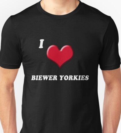 I love Biewer Yorkies T-Shirt