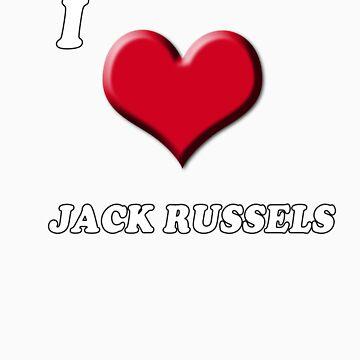 I love Jack Russels by BrightBrownEyes