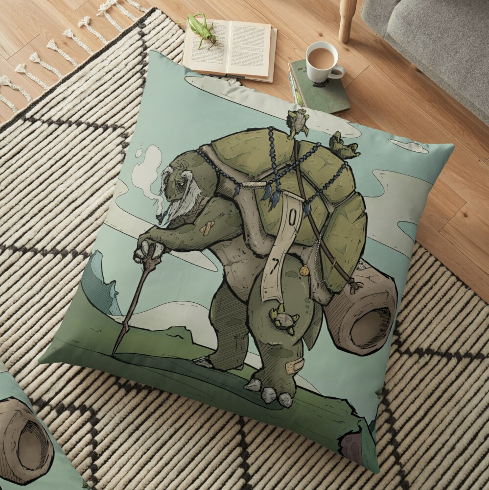 Backpacker Floor Pillow