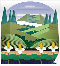 Marin Headlands Poster