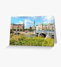 City of Stockholm Greeting Card
